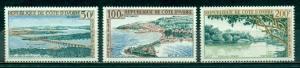 Ivory Coast #C22-C24  Mint VF H  Scott $11.50