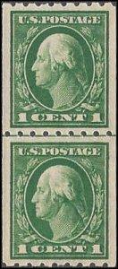 410 Mint,OG,NH... Line Pair... SCV $65.00... VF/XF