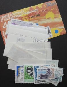 EDW1949SELL : F.S.A.T. 1994, 1995, 1996 Complete Year sets. All Very Fine, MNH.
