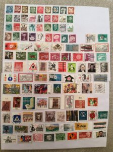 German 100+ stamps - Lot T