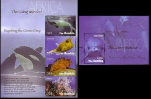 Gambia Exploring the Ocean Deep Sheetlet+MS
