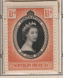 NORTHERN RHODESIA, 60, MNH, 1953, Coronation Issue