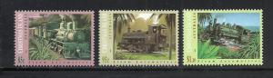 Christmas Island #360-2 comp mnh Scott cv $6.85 Trains
