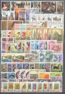 San Marino 87 MNH values, 1960-69