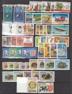 Uganda Mint NH sets (Catalog Value $55.75)   [3R0190]