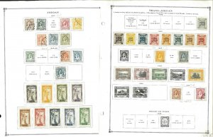 Jordan MNH & H in Mounts & Postally Used Hinged on Scott International Pages
