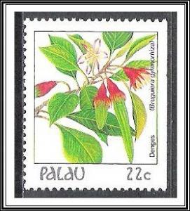 Palau #132 (v) Indigenous Flowers MNH