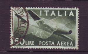 J20414 jlstamps 1945-7 italy used #c113 airplane