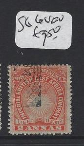BRITISH EAST AFRICA (P2705BB) 2A  ARMS  SG 6  VFU