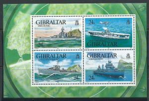 Gibraltar SG MS 694 Mint Unhinged - MUH