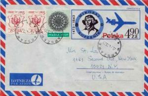 Poland, Airmail, Postal Stationery, Aviation