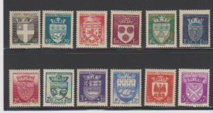FRANCE #B135-B146 (12) STAMP MNH- LOT#F55