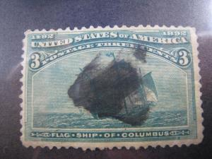 UNITED STATES - SCOTT #232 - Used