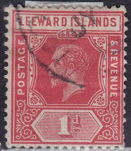 Leeward Islands 48 USED 1912 King George V