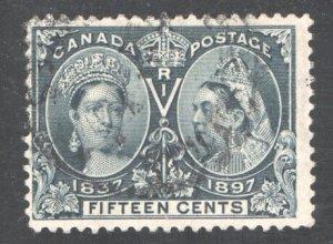 CANADA #58,  F/VF,  Used.   CV 190.00    ...   1150052