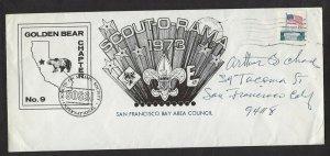 1973 US Boy Scouts San Francisco Calif SOSSI Golden Bear Scout-o-Rama