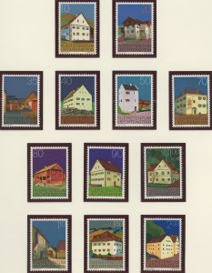 Liechtenstein 638-49 mint NH  (2745 186.j)
