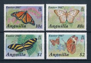 [71121] Anguilla 1987 Insects Butterflies Easter  MNH