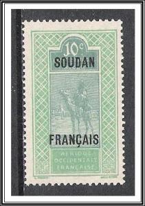 French Sudan #25 Camel & Rider NG