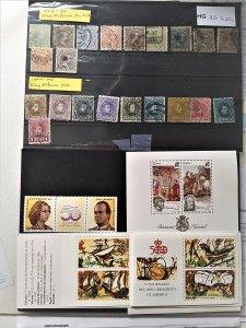 Lot old Spain + minisheet+carnet(edif:2927+3079C+3090 CV € 53