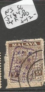 Malaya Jap Oc Negri Sembilan SG J164d Chop F VFU (10cnn)