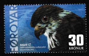 Faroe Is. Birds Male Merlin SG#442 MI#435