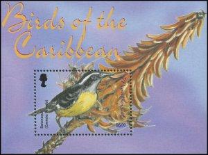 Montserrat 2003 Sc 1092 Birds Bananaquit CV $7