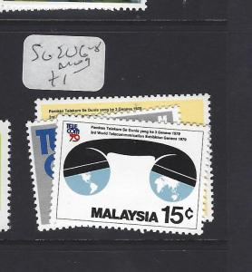 MALAYSIA (P3008B)  SG 206-8    MOG