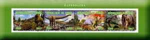 Congo 2017 Dinosaurs Pre-Historical Animals 4v Mint Souvenir Sheet S/S. (#23)