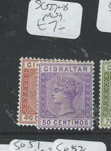 GIBRALTAR  (P2407B) QV SG 27-8  MOG