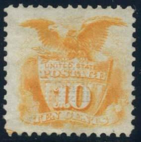 US Scott #116 Mint, FVF, No Gum