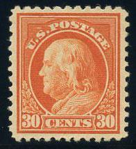 US Scott #516 Mint, XF/S, XL Hinge, PSE