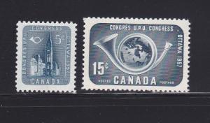 Canada 371-372 Set MNH UPU