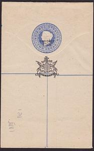 INDIA FARIDKOT QV 2a Registered envelope overprinted in black...............6126