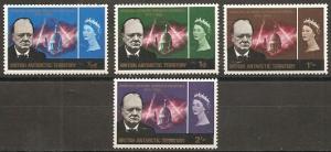 British Antarctic Territory 16-9 1966 Churchill Issue LH