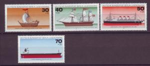 J20757 Jlstamps 1977 berlin germany set mnh #9nb133-6 ships