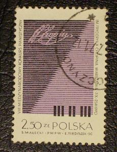 Poland Scott #1756 used