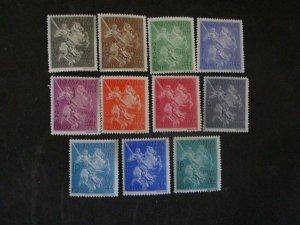 Romania #B99-109 Mint Hinged WDWPhilatelic (H5K7)