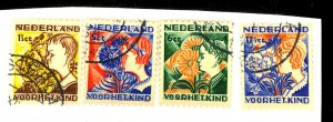 Netherlands 3B58-61 Used FVF Cat$19