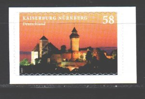 Germany. 2013. 2978. Nuremberg Castle. MNH.