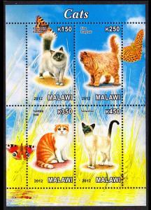 Malawi Cats Sheetlet