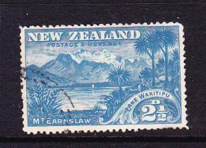 NEW ZEALAND  1898  2 1/2d WAKITIPU   PICTORIAL FU  SG 249