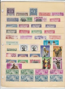 Liberia Mixed Stamps Ref 35957