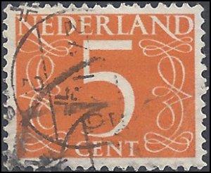 Netherlands #341 1953 Used