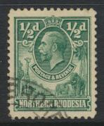 Northern Rhodesia  SG 1 SC# 1 Used  - see details