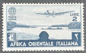 DYNAMITE Stamps: Italian East Africa Scott #C7 – MINT hr