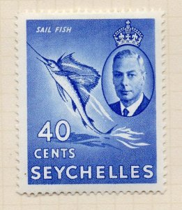 Seychelles 1952 Early Issue Fine Mint Hinged 40c. NW-99393