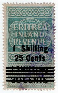 (I.B) BOIC (Eritrea) Revenue : Inland Revenue 1/- 25c on 1/- 30c OP