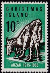 Christmas Island #21 Mint