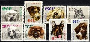 Poland #1636-43  MNH CV $5.90  (X1006)